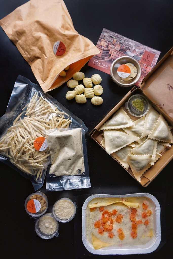 Pasta Evangelists DIY meal kits