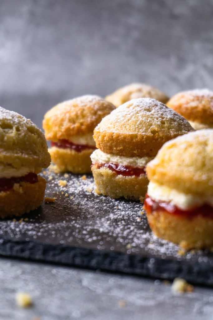 Mini Victoria Sponge Cakes