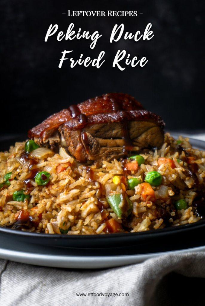 Leftover Peking Duck Fried Rice Recipe