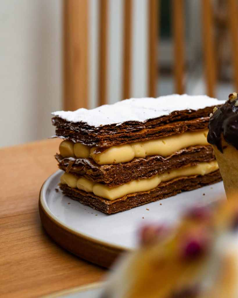 Mille Feuille at Chestnut Bakery