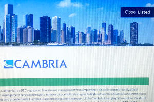 Cambria to transfer three ETFs to Cboe BZX