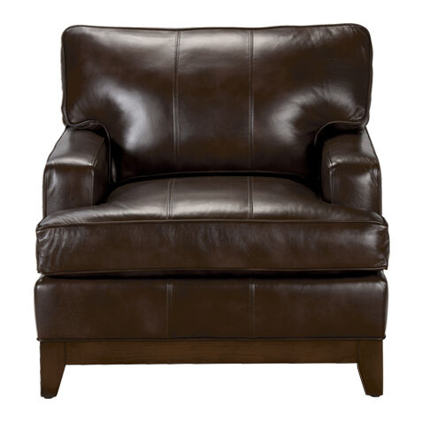 leather wingback chairs canada compact folding chair shop living room chaise accent ethan custom quick ship