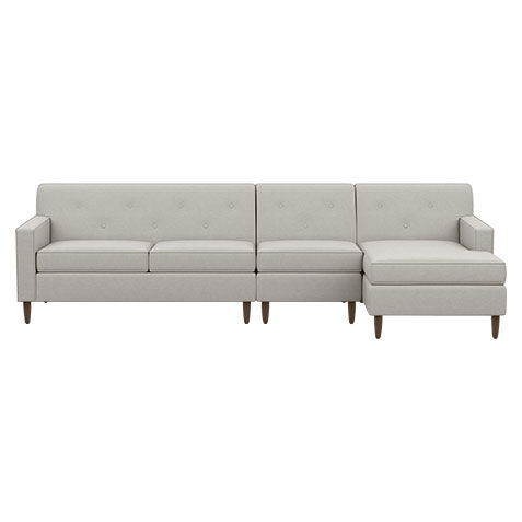 montreal sectional sofa in slate value city furniture and loveseat set shop sectionals leather living room ethan allen marcus with chaise