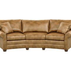 Bennett Leather Sofa Lacrosse Furniture Ludlow Twin Sleeper Conversation Sofas And Loveseats