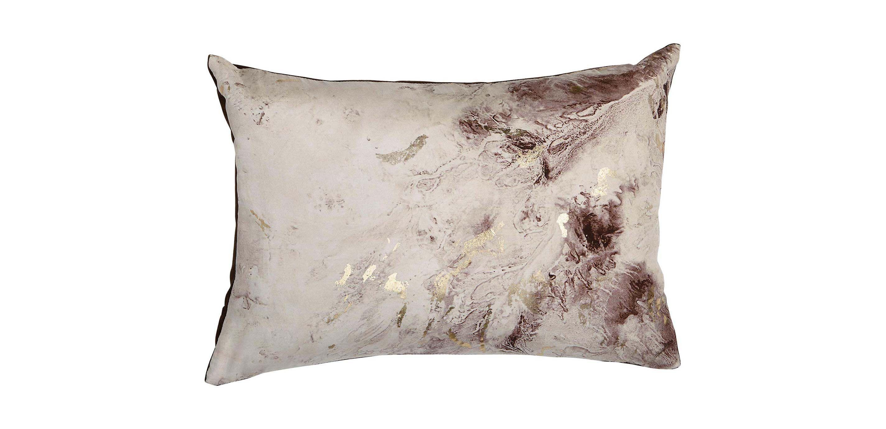 marble lumbar pillow