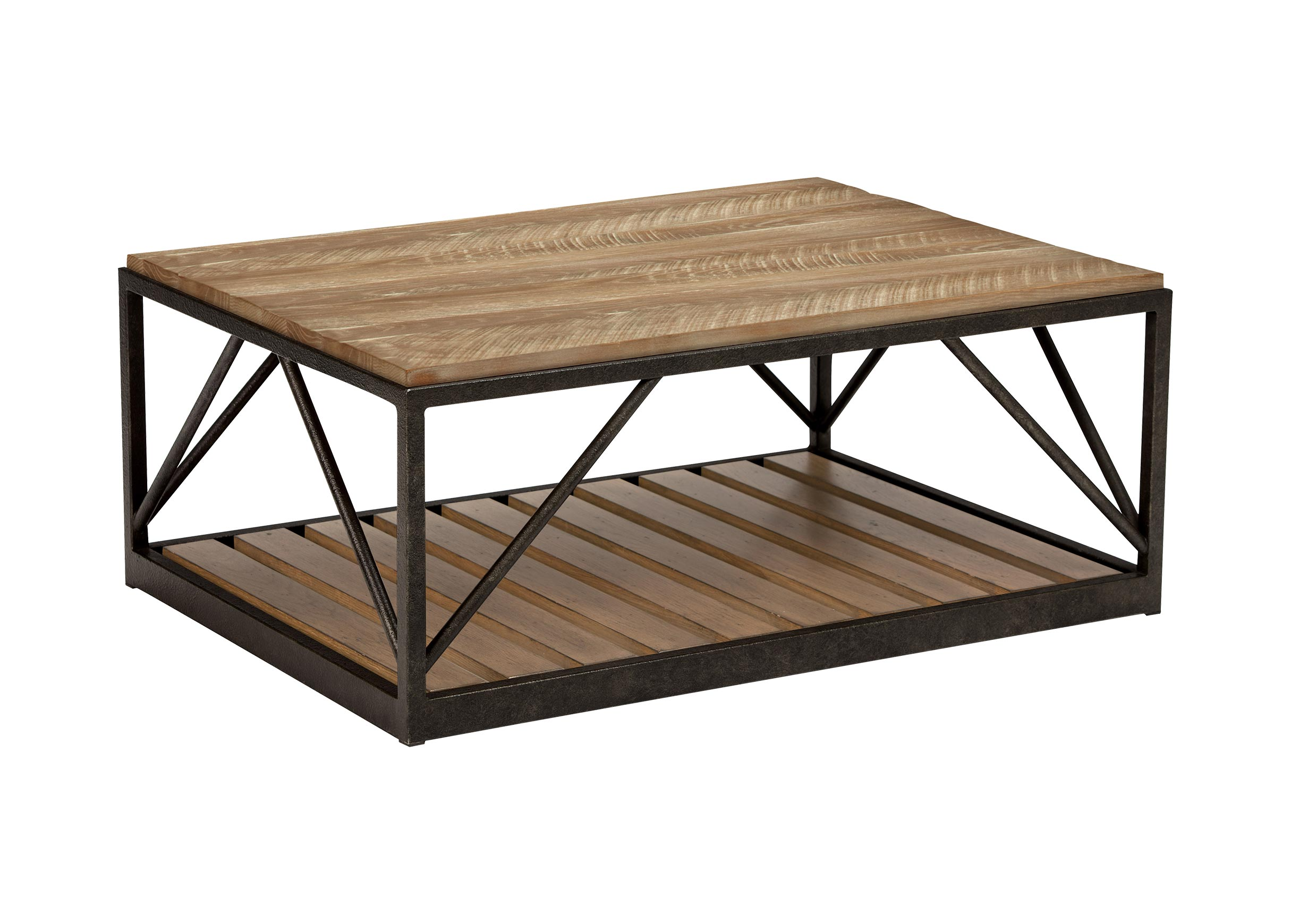 Beam Metal Base Coffee Table