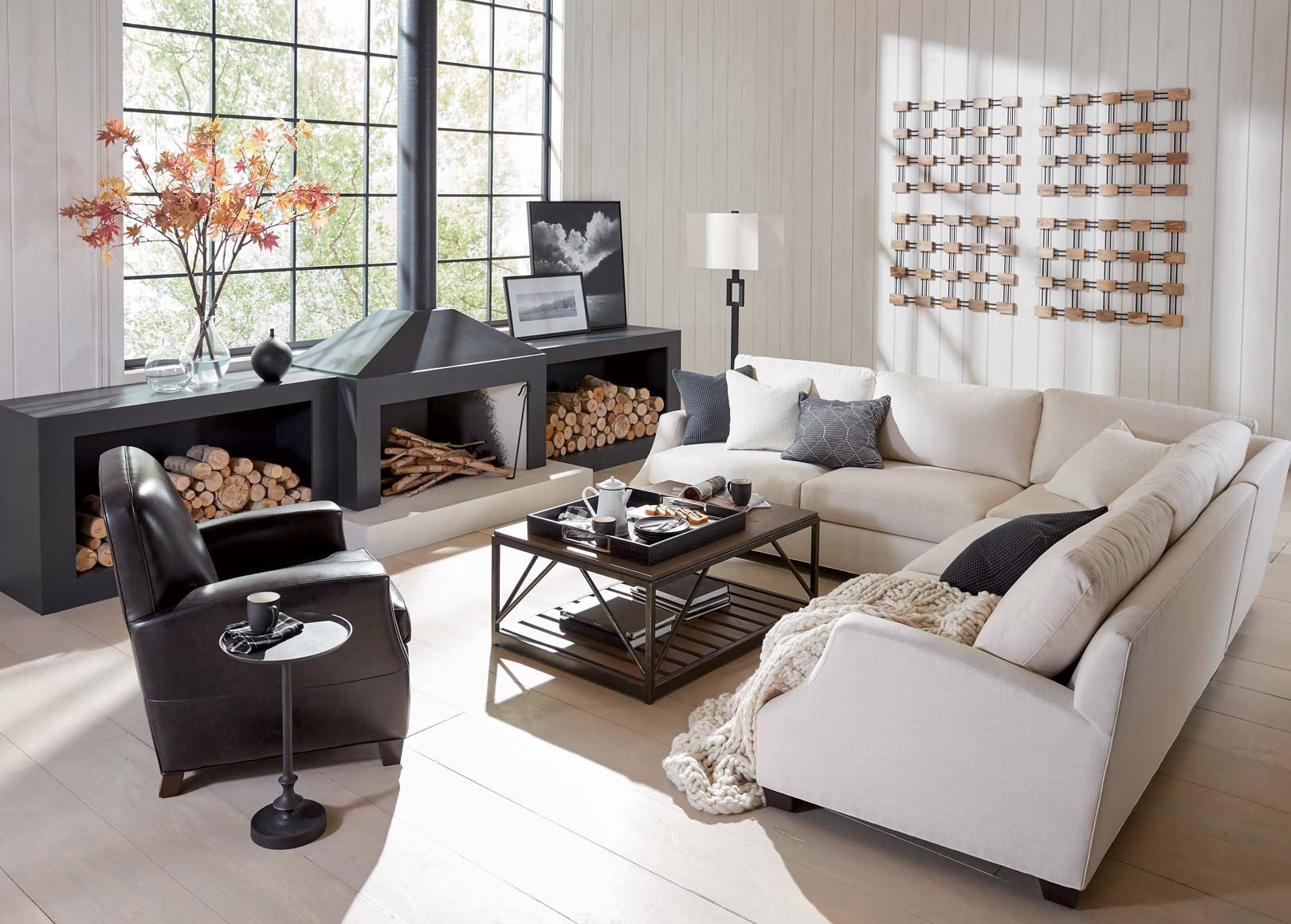 living room couches ethan allen doors cozy modern inspiration in black and white main image