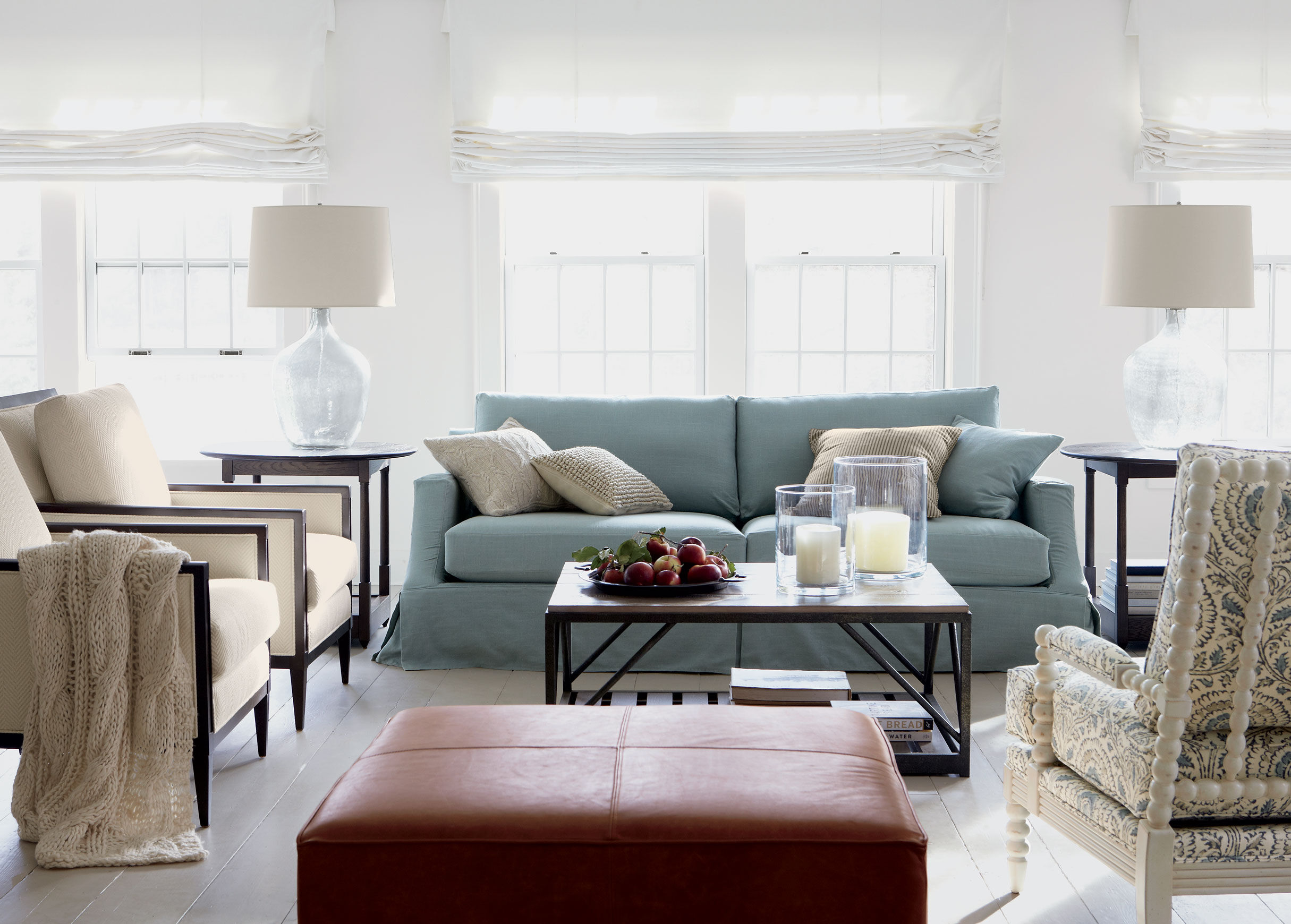 slipcovered living room chairs navy wing chair slipcover lynn sofa sofas and loveseats ethan allen