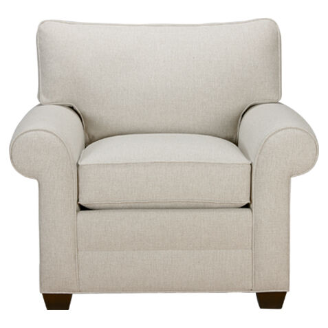 ethan allen wingback chairs unusual for hallway shop living room chaise accent custom quick ship
