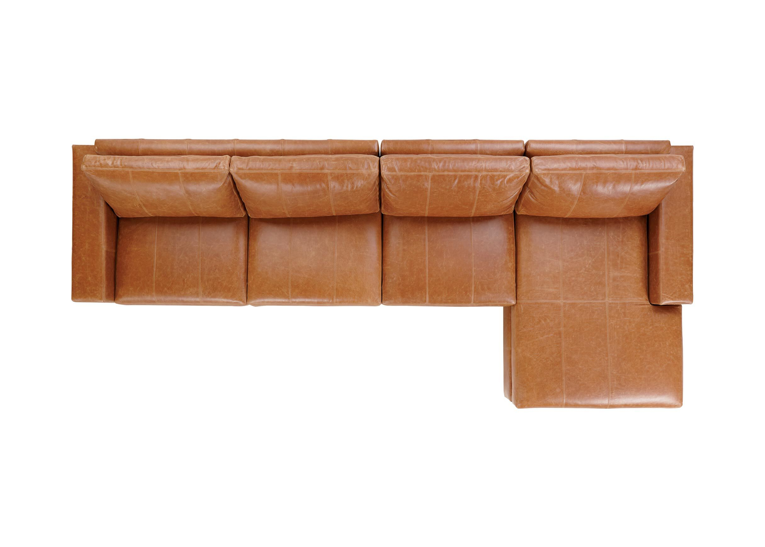 3 piece leather sectional sofa with chaise massive bed conway three ethan allen