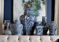 Extra Large Blue and White Ginger Jar | Bottles & Jars