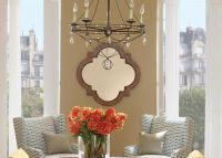 Light Quatrefoil Mirror | Mirrors