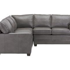 Bennett Leather Sofa Bauhaus Furniture Sectional Track Arm Three Piece Quick