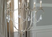 Cali Aged Silver Chandelier | CHANDELIERS