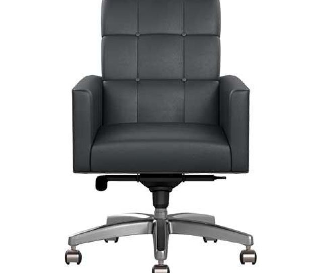 Gareth Leather Desk Chair Office Desk Chairs