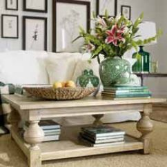 Square Living Room Tables Coastal Decorating Ideas Shop Coffee Ethan Allen Quick Ship Deacon Table