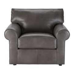 Ethan Allen Leather Chair High Kitchen Chairs Shop Living Room Chaise Accent Custom Quick Ship