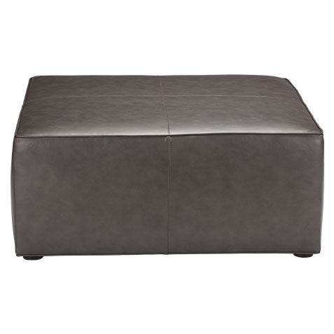 storage leather ottomans cocktail