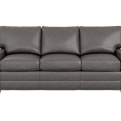 Cloud Track Arm Leather Two Seat Cushion Sofa Bed Designer Bennett Three The