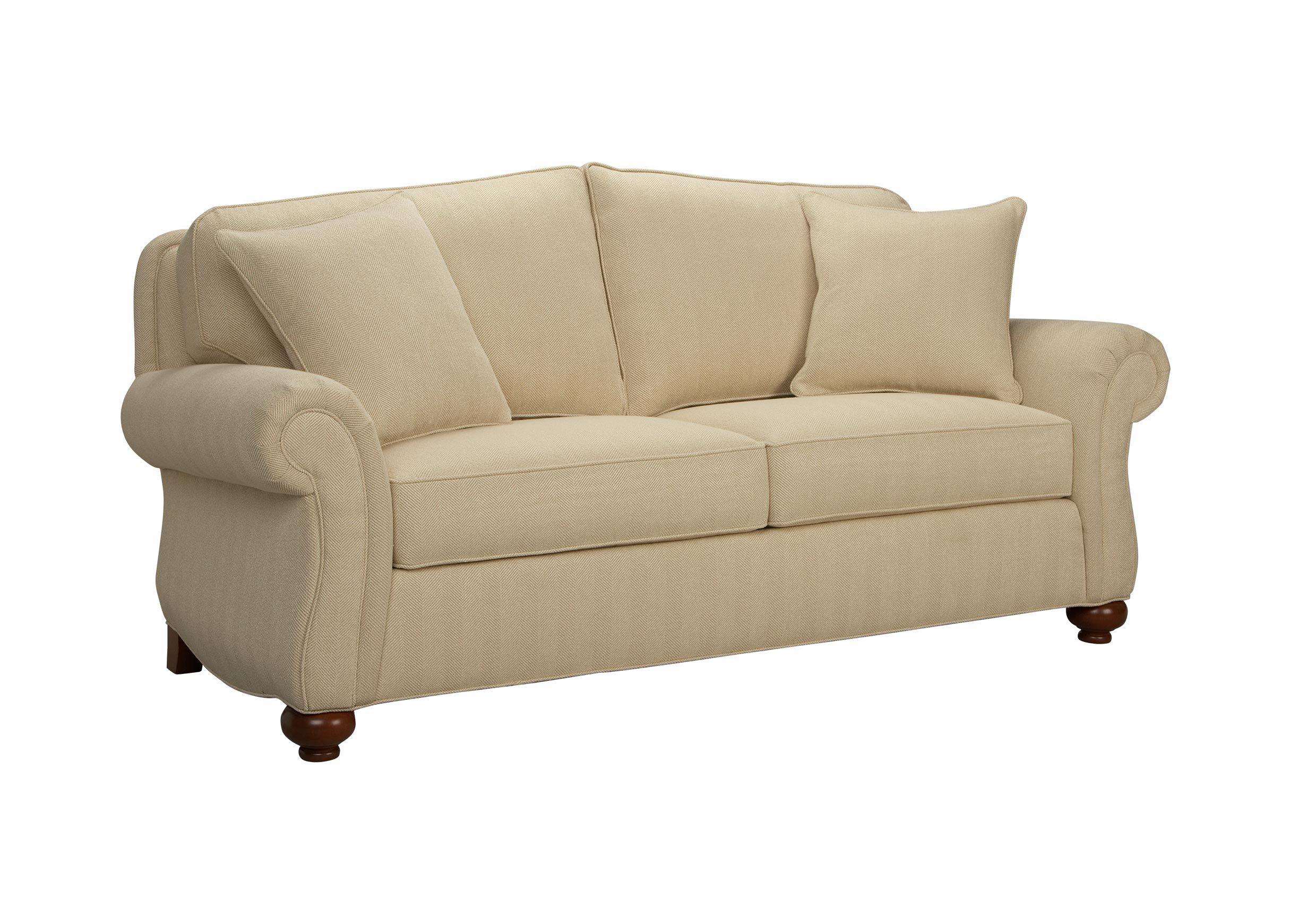 ethan allen sofas blue white striped sofa whitney leather