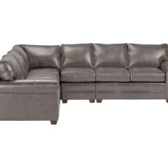 Bennett Leather Sofa How To Dispose Old In Bangalore Four Piece Sectional Quick Ship Sectionals