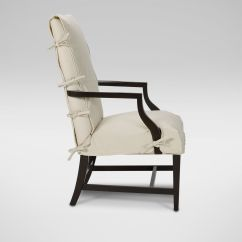 Wood Arm Chair Covers Kelsyus Premium Canopy Slipcover For Martha Washington And Host Chairs