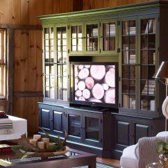Media Center Living Room Aqua And Brown Curtains Villa Cabinets Ethan Allen 3