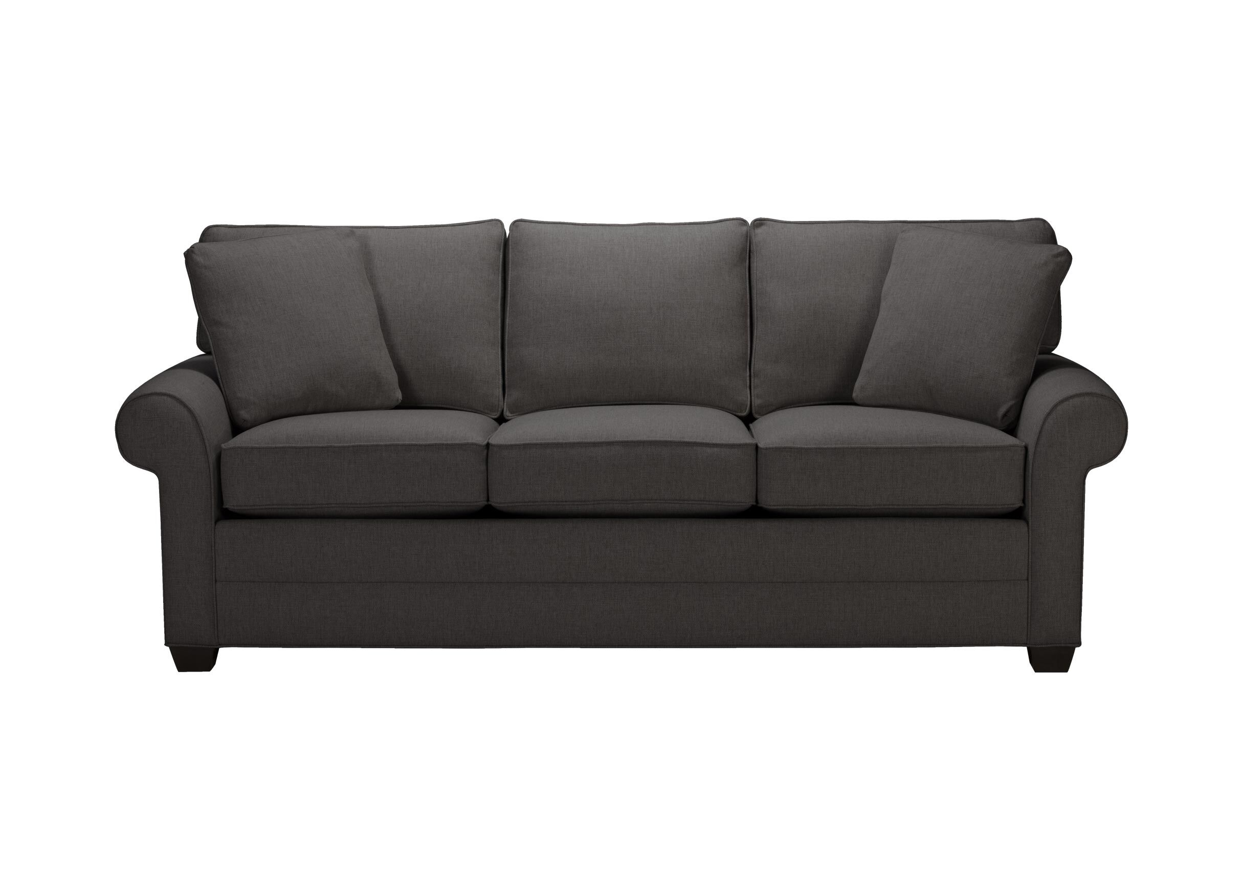 rolled arm sofa nz recliner chair singapore bennett roll quick ship sofas and loveseats