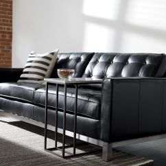 Melrose Leather Sofa Ethan Allen Buy Sleeper The Collection