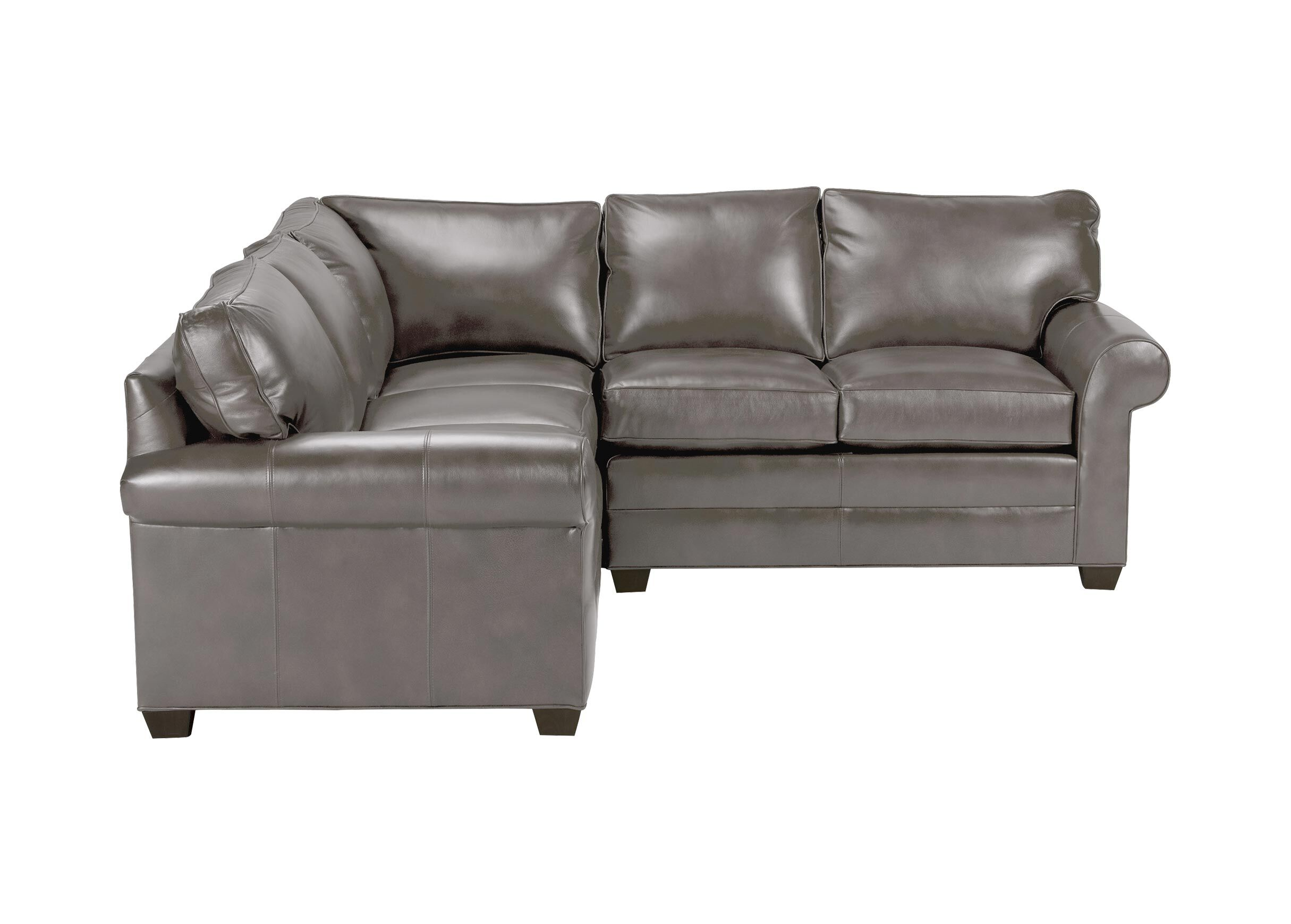 bennett leather sofa patio furniture covers three piece sectional quick ship