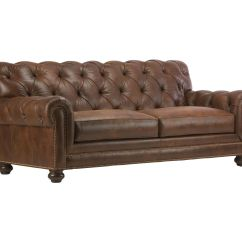 Chadwick Sofa Red And Cream Striped Leather Sofas Loveseats