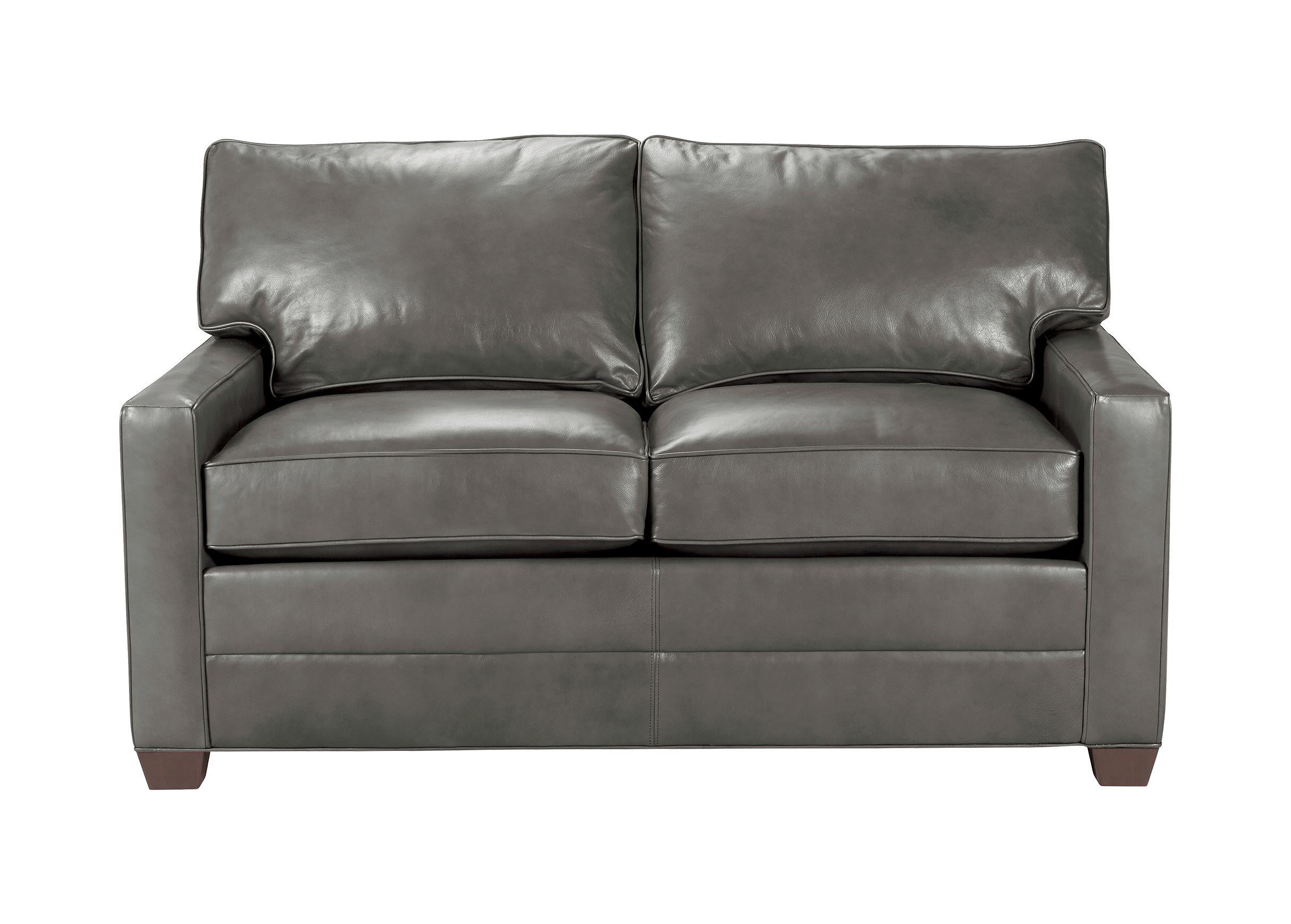 bennett leather sofa lawson cargo track arm sofas quick ship