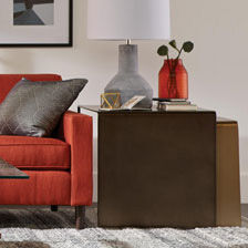 tables living room charcoal and brown shop side accent decorative ethan allen quick ship