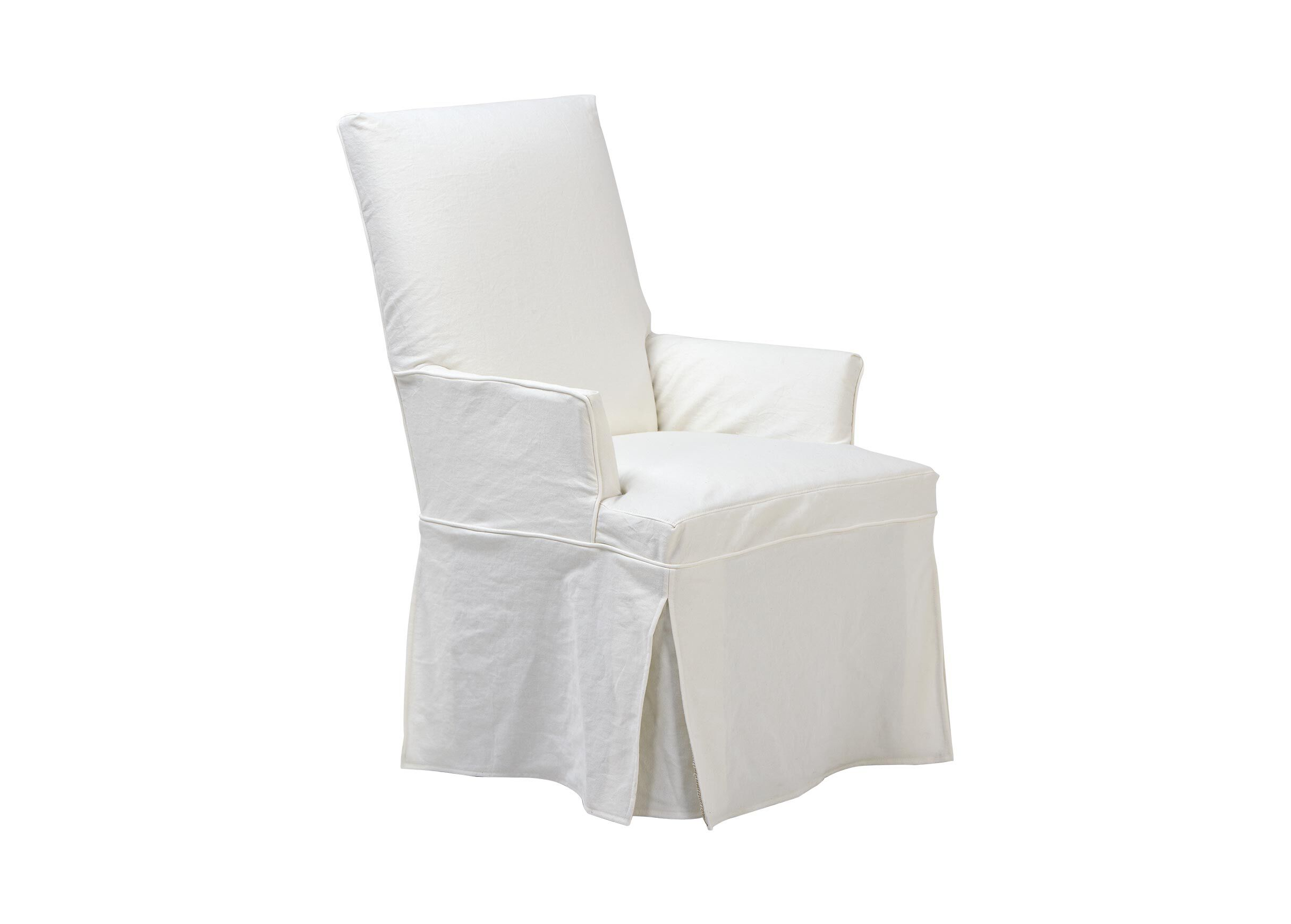 dining room chair covers with arms caper stacking slipcover for dayton arm and host chairs ethan allen