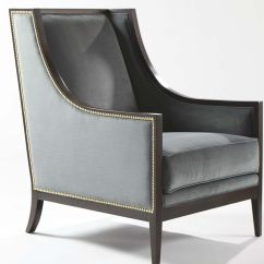 Ethan Allen Wingback Chairs Dining Chair Covers Nz Caden High Back Wing Fabric Or Leather