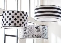 Big Moment Stripe Pendant   Black and White Striped ...