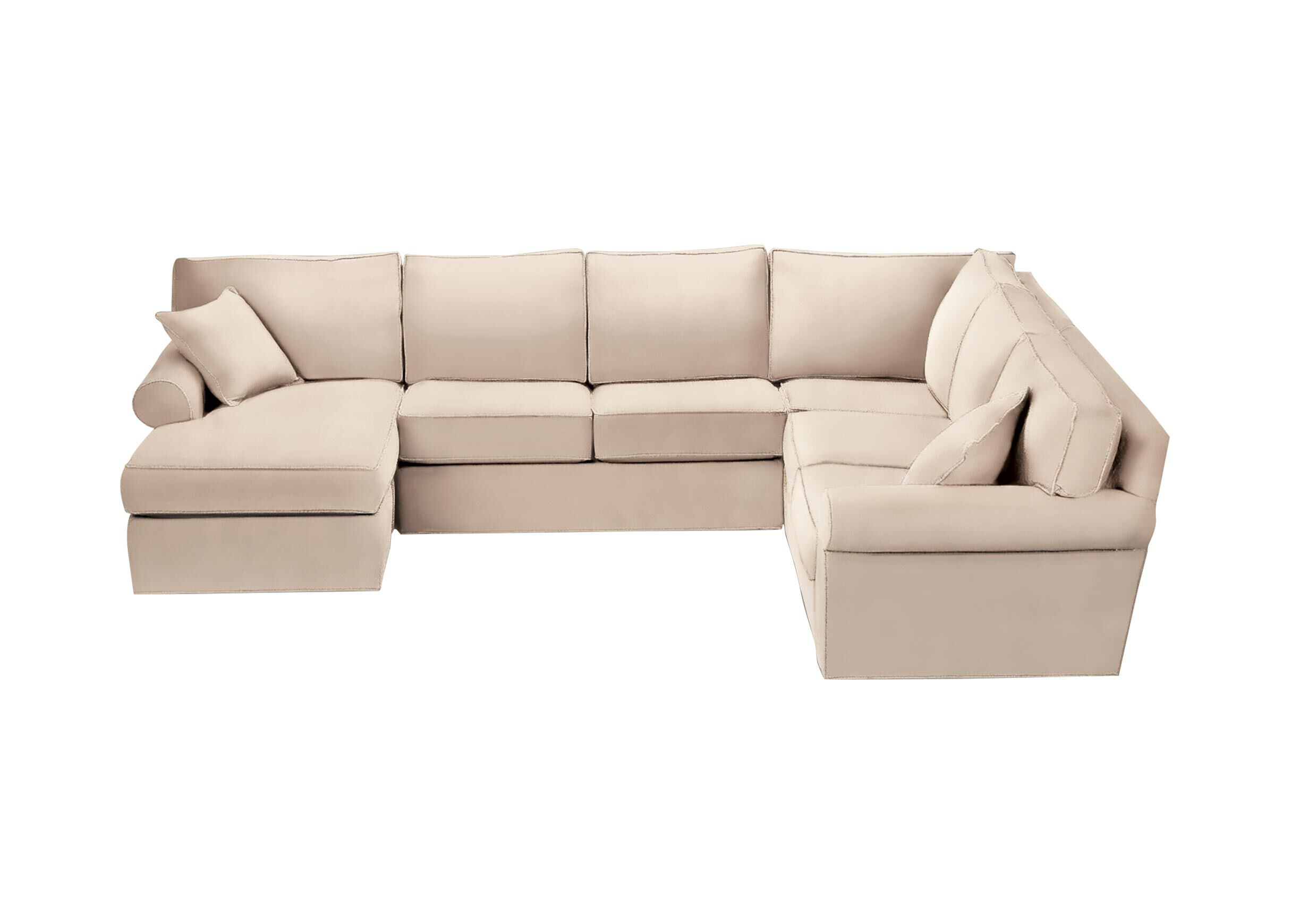 roll arm sofa canada best rated reclining sofas retreat sectional with chaise sectionals