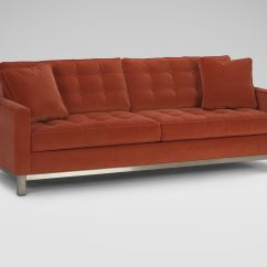 Melrose Leather Sofa Ethan Allen Top Rated Reclining Sofas And Loveseats