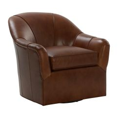 Swivel Chair Em Portugues Swing Kota Kinabalu Marino Leather Chairs And Chaises