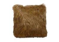 Tipped Fox Faux Fur Pillow | Pillows | Ethan Allen