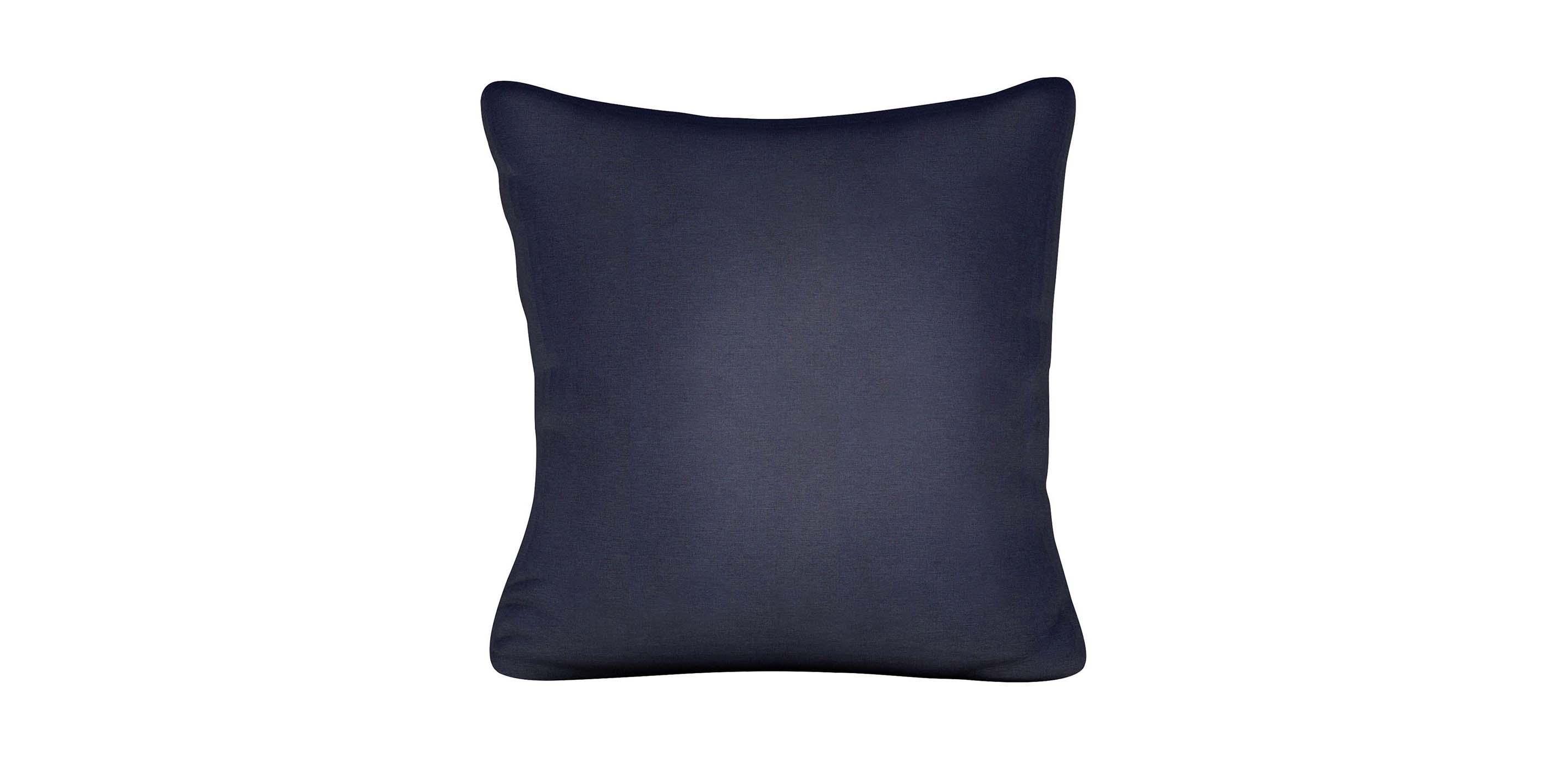 Kean Navy Outdoor Pillow  Outdoor Pillows  Ethan Allen