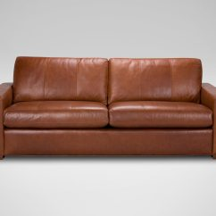 Leathers Sofa Sectional Sleeper Leather Hudson Sofas And Loveseats