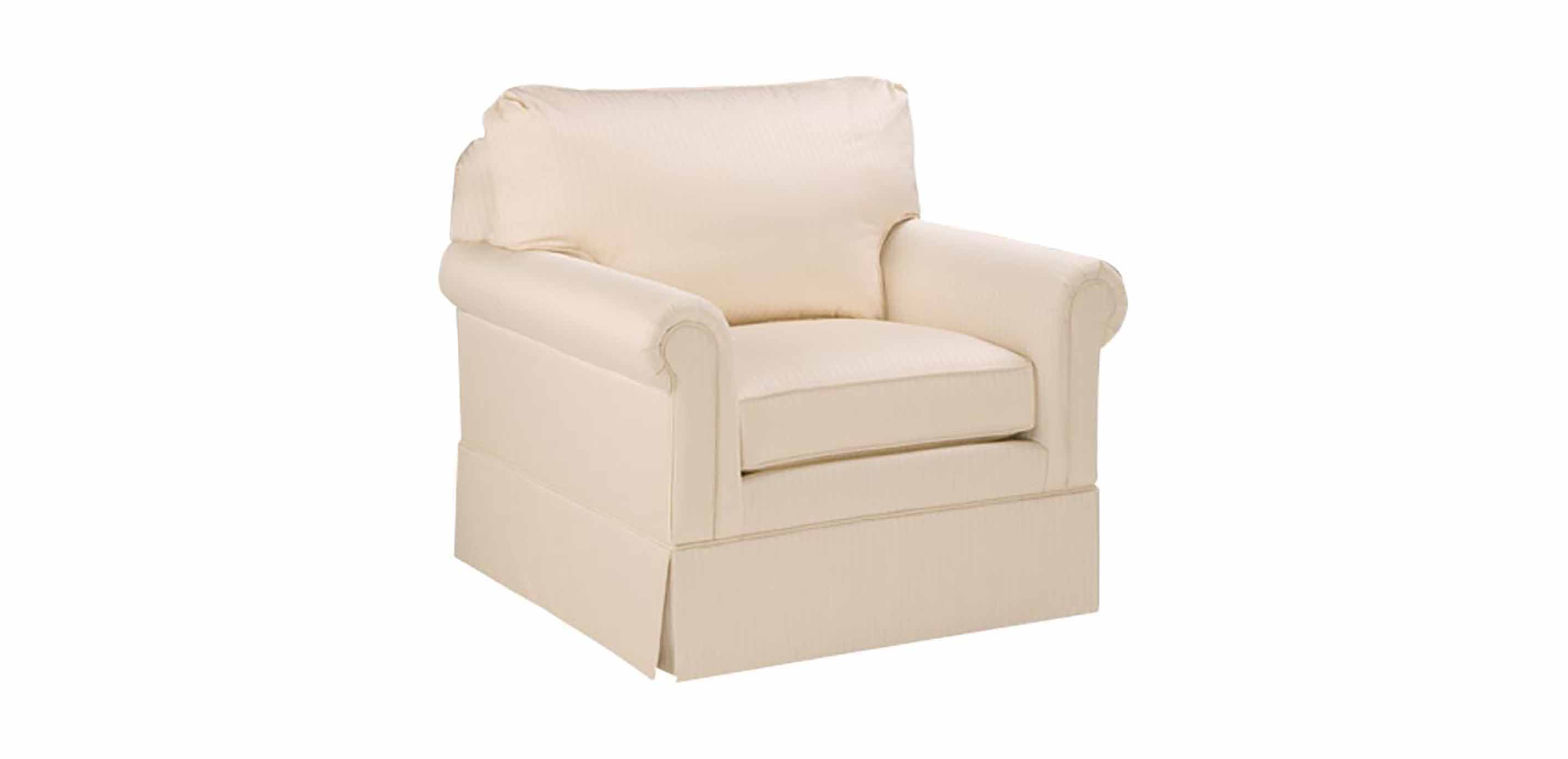 paramount sofa ethan allen cheap corner beds with storage panel arm swivel chair chairs chaises