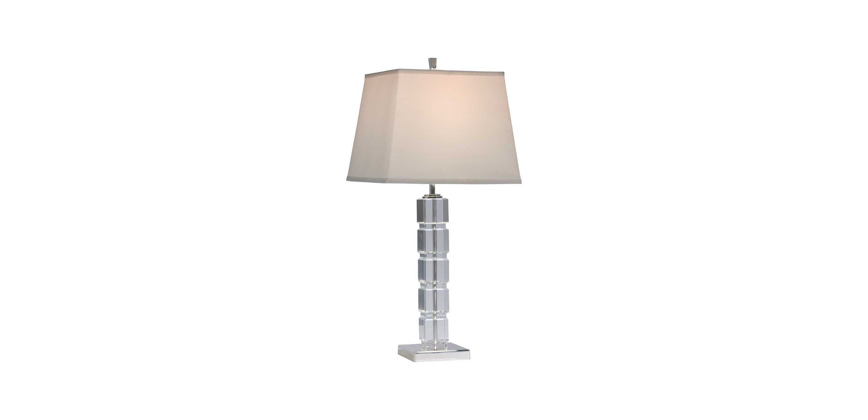 Crystal Blocks Table Lamp  TABLE LAMPS  Ethan Allen