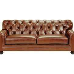 Drummond Grand Leather Sofa Baseball Stitch John Lewis ...