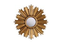 Mini Gold Starburst Mirror | Mirrors | Ethan Allen