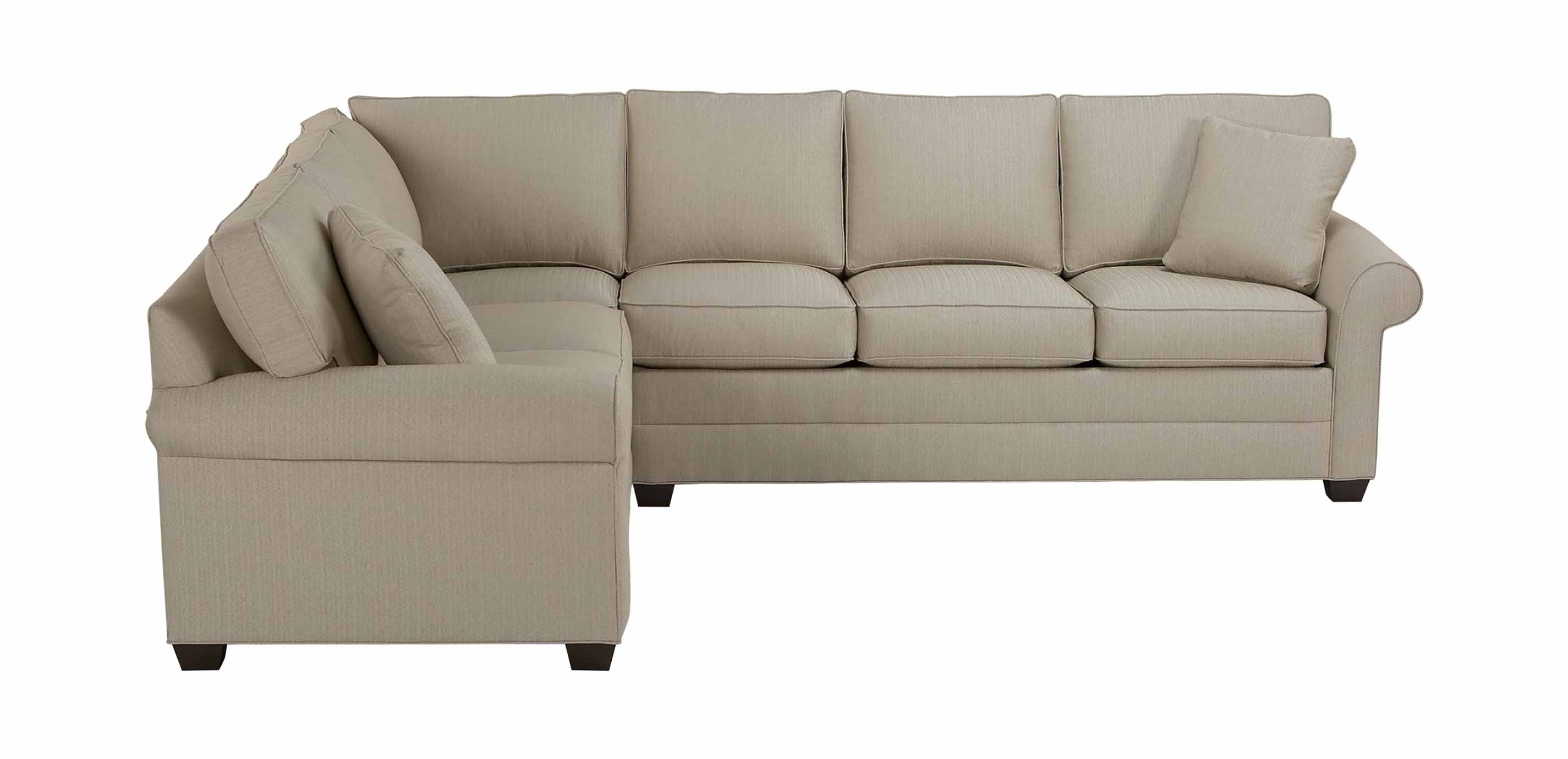 roll arm chair slipcovers phil and teds high bennett sectional sectionals ethan allen