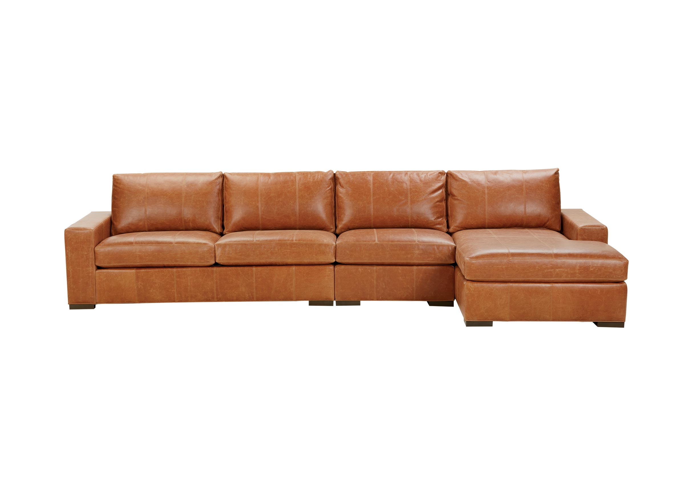 3 piece leather sectional sofa with chaise redwood city ca conway three ethan allen