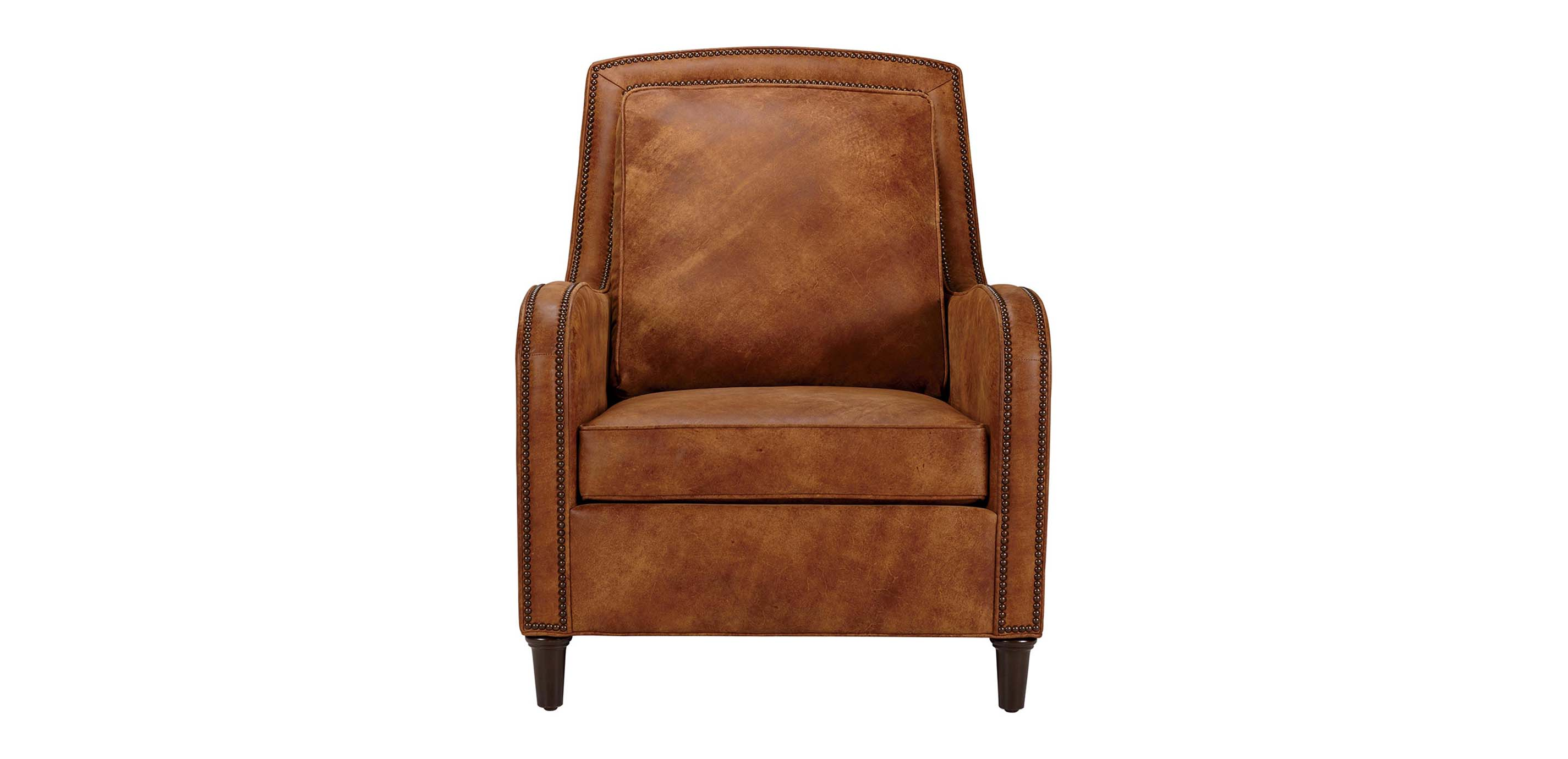 Malone Leather Chair  Ethan Allen