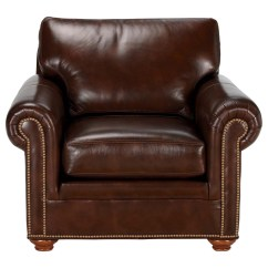Ethan Allen Leather Chair Folding Camping Conor The Collection
